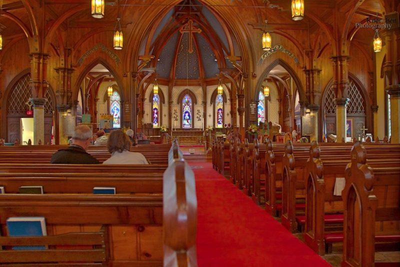 Lunenburg, Kirche, Nova Scotia, Kanada