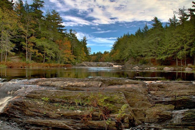 Mill Falls, Kejimkujik National Park, Nova Scotia, Kanada
