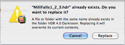 HDR 4.0 Darkroom Filedialog