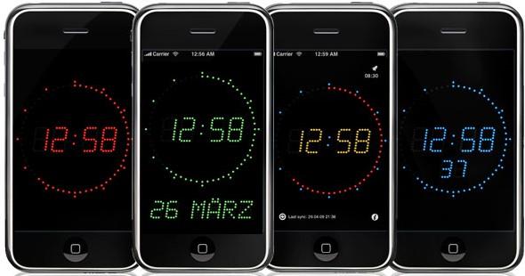 Kamerazeit mit Hilfe eines Referenzfotos korrigieren (Gorgy Timing Atomuhr iPhone/iPod/iPad App)