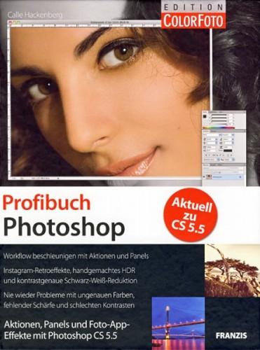 Buchempfehlung: Profibuch Photoshop von Calle Hackenberg