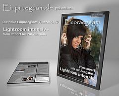 Gewinne eine Trainings DVD: Lightroom intensiv – vom Import bis zur Ausgabe