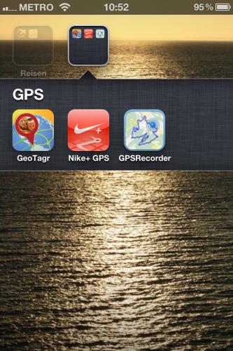 Geotagging mit dem iPhone und GeoTagr