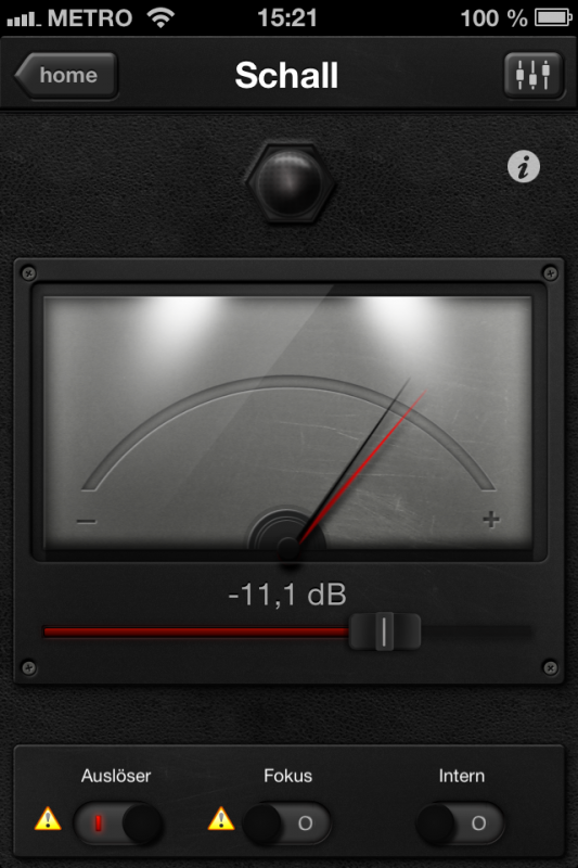 Triggertrap App (iOS) - Auslöser 2