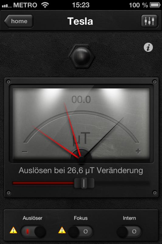Triggertrap App (iOS) - Auslöser 11