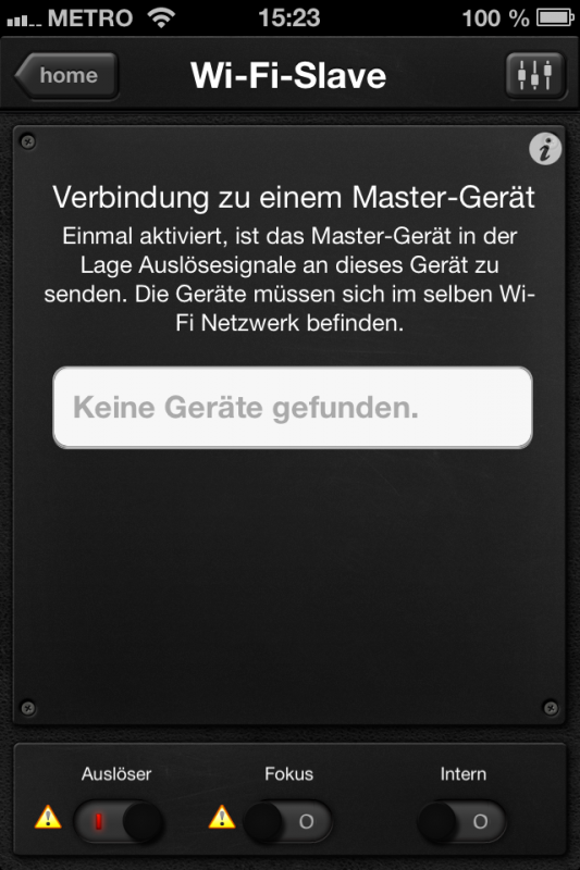 Triggertrap App (iOS) - Auslöser 14