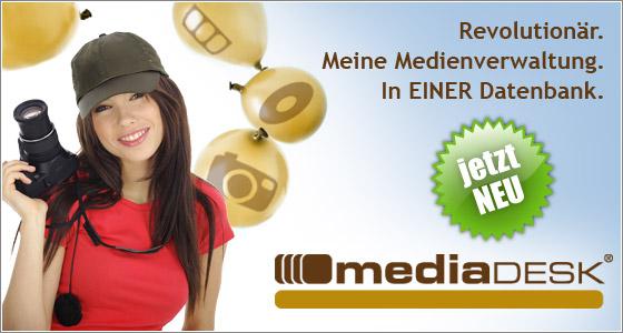 © mediaDESK: NEU mediaDESK 3.3