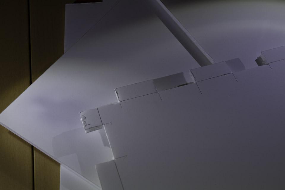 Lichtbox: Verzahnung