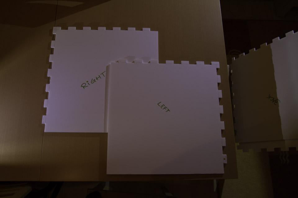 Lichtbox: Seitenteile