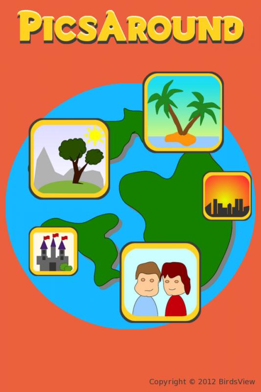 PicsAround: App-Logo