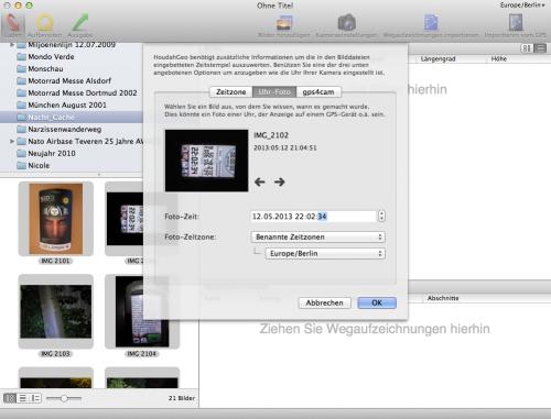 Update Houdah Geo = Update meines Fotos geotaggen Workflows