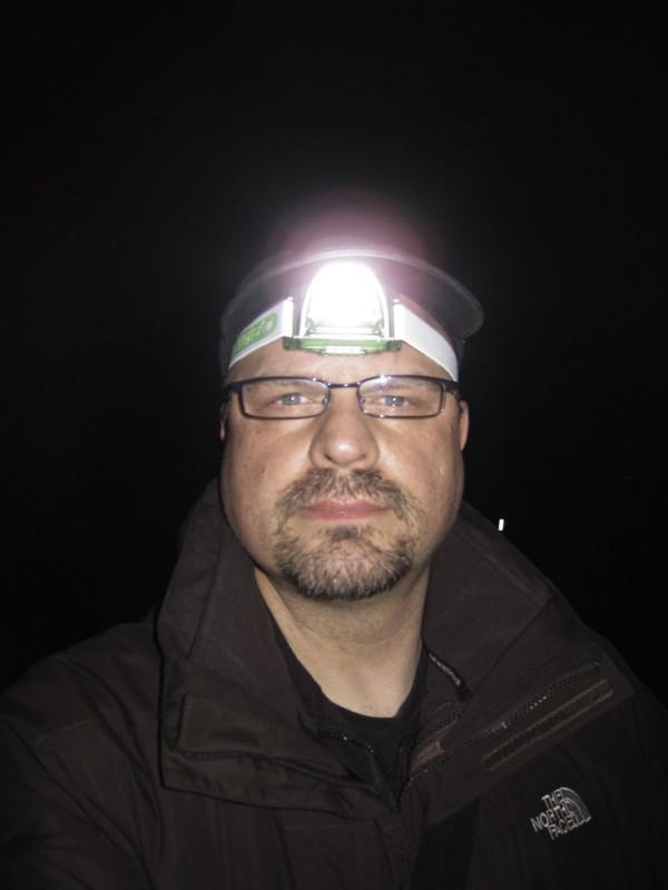 Cacher in Aktion mit der LED LENSER SEO 3