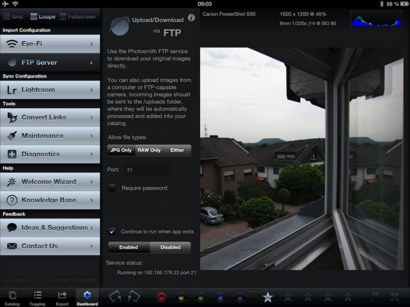 Photosmith FTP Setup