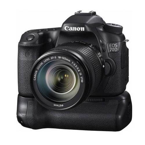 Beispiel für eine DSLR © Canon EOS 70D
