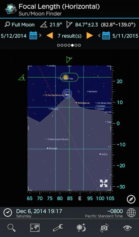 PalnIt! VR Sucher mit virtuellem Horizont © Ying Wen Technologies