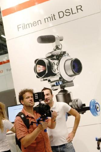 Filmen mit der DSLR © Foto: Koelnmesse GmbH