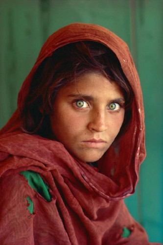McCurry: Afghanisches Mädchen, 1984, © Steve McCurry/ NATIONAL GEOGRAPHIC