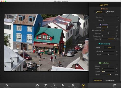 Focus 2 Pro - Original Aufnahme (vorher)