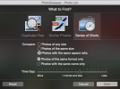 PhotoSweeper - Duplikate nach Serienaufnahmen