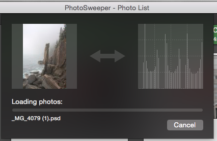 PhotoSweeper - Duplikate suchen