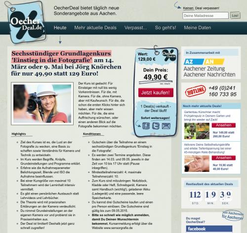 OecherDeal Angebot