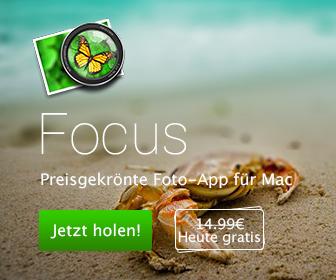 Macphun und Sensorgrafie verschenken Focus für Mac!