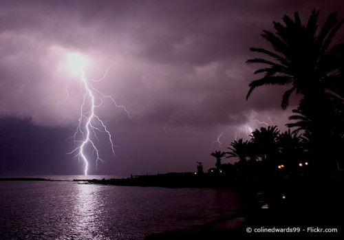 Lightning by colinedwards99, Flickr, CC BY 2.0