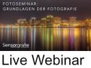 Live Webinar · Grundlagen der Fotografie