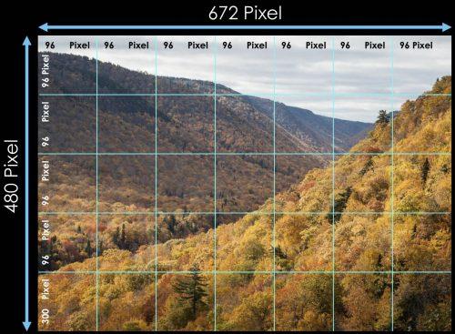 Auflösung 672 x 480 Pixel bei 96dpi