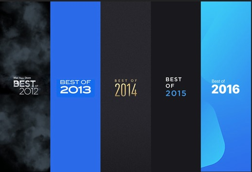 """Macphun seit 2012 """"BestOf"""" Auszeichnungen von Apple"""