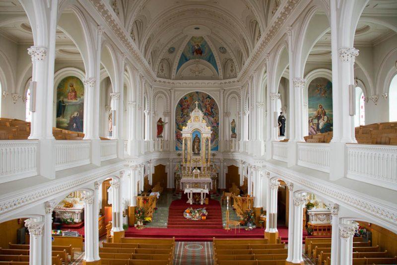 Église St Joseph - Church of St. Joseph, Chteicamp, Nova Scotia, Canada