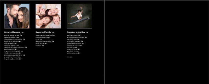 Studio - Inhaltsverzeichnis 2