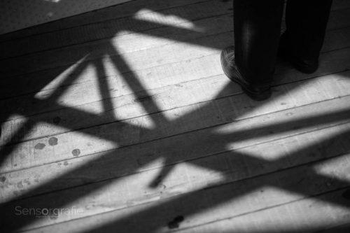 Schattenrand - Wupperschweben © Joerg Knoerchen - Sensorgrafie