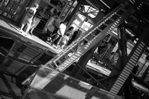 Leiter - Wupperschweben © Joerg Knoerchen - Sensorgrafie