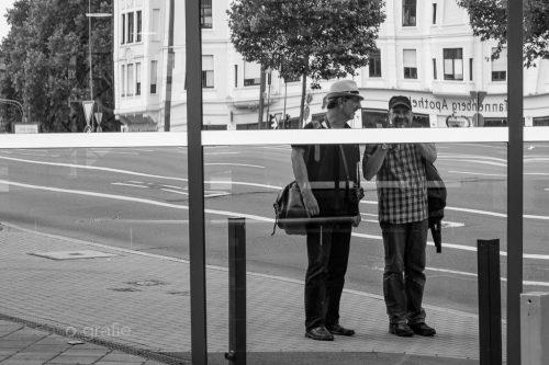 Selfie - Wupperschweben © Joerg Knoerchen - Sensorgrafie