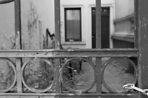 Verschlossen - Wupperschweben © Joerg Knoerchen - Sensorgrafie