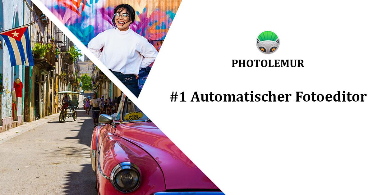 Photolemur vollautomatische Bildbearbeitung