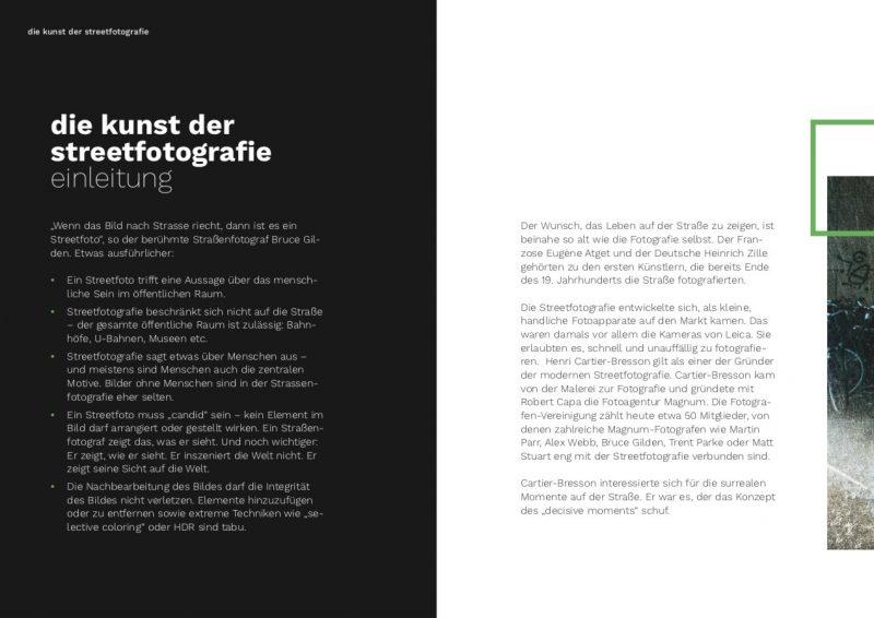 """Einleitung eBook """"Die Kunst der Streetfotografie"""""""