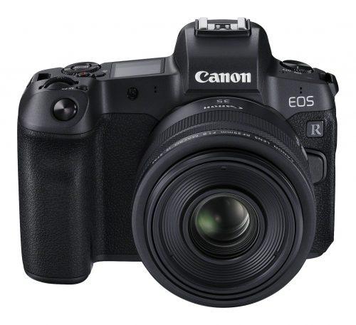 Beispiel einer Systemkamera © Canon EOS R RF35