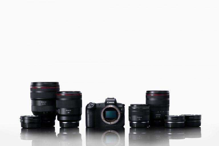 Canon's erste spiegellose Vollformat-Kamera das EOS R System