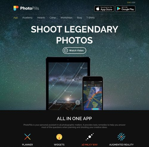 PhotoPills - Website