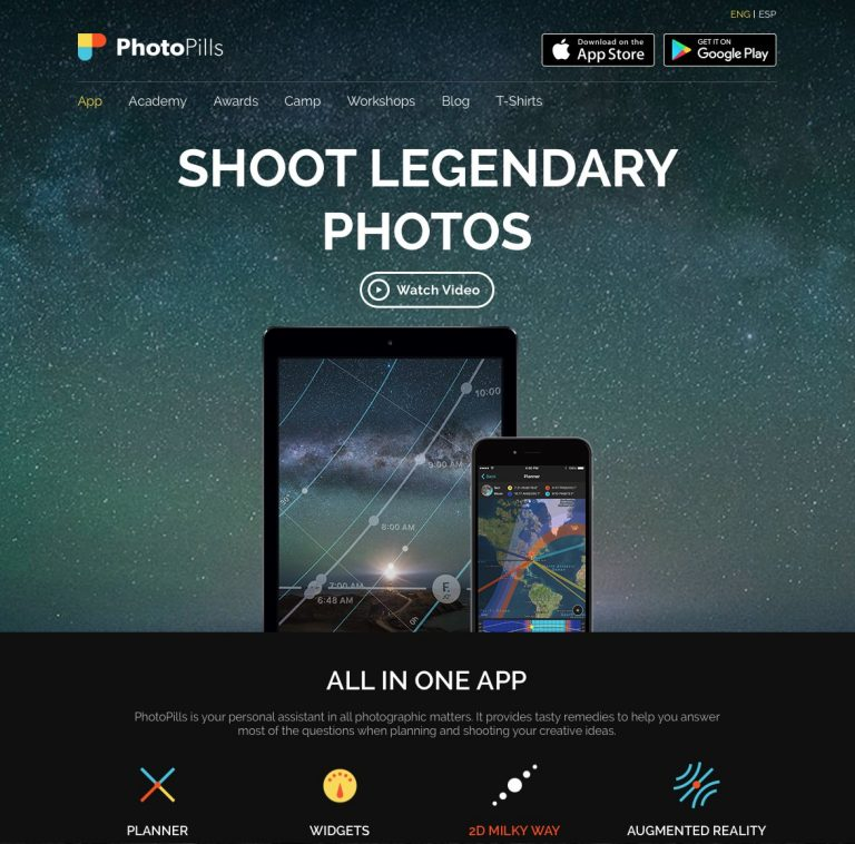 PhotoPills, damit Deine Fotoplanung besser wird