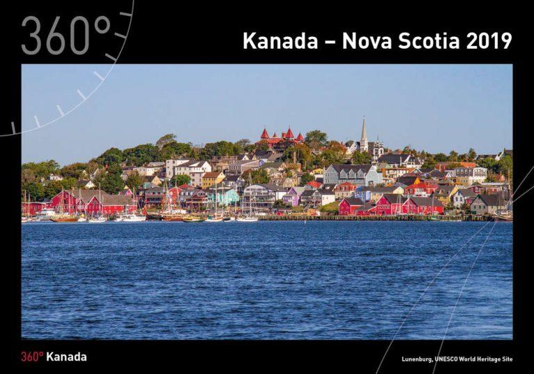 Fotokalender 2019 mit Motiven aus Nova Scotia, Canada