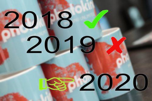 photokina erst 2020 wieder (Original Bildquelle Koelnmesse/photokina)