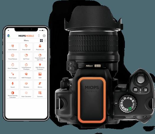 Smartphone-App und MIOPS RemotePlus © Eron Elektronik