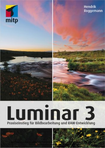 Luminar3 von Hendrik Roggemann, Cover © mitp Verlag