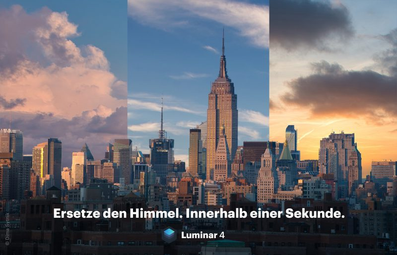 Luminar 4: AI-Sky-Replacement