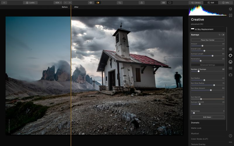 Luminar 4 - Screenshot