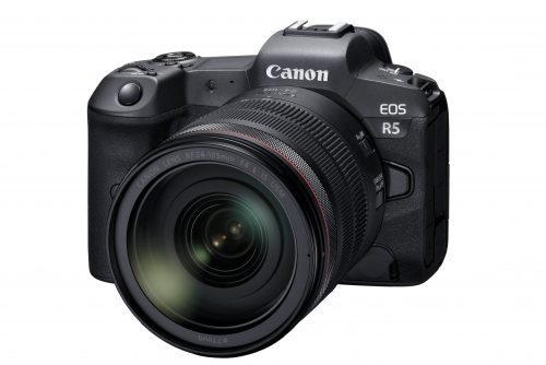 EOS R5 mit RF-24-105mm F4 L IS USM