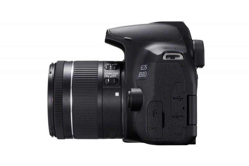 Canon EOS 850D - Seitenansicht